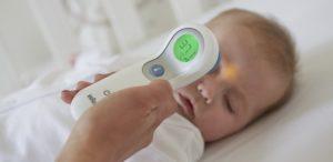 thermometre sans contact bébé
