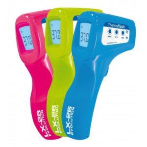 thermometre sans contact prix couleurs